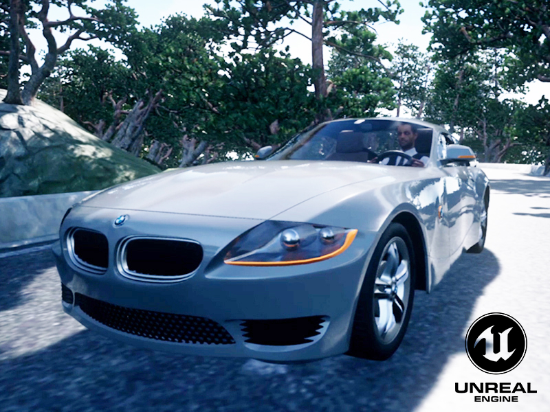 Maxime Gastal BMW Z4 reconstitution faciale